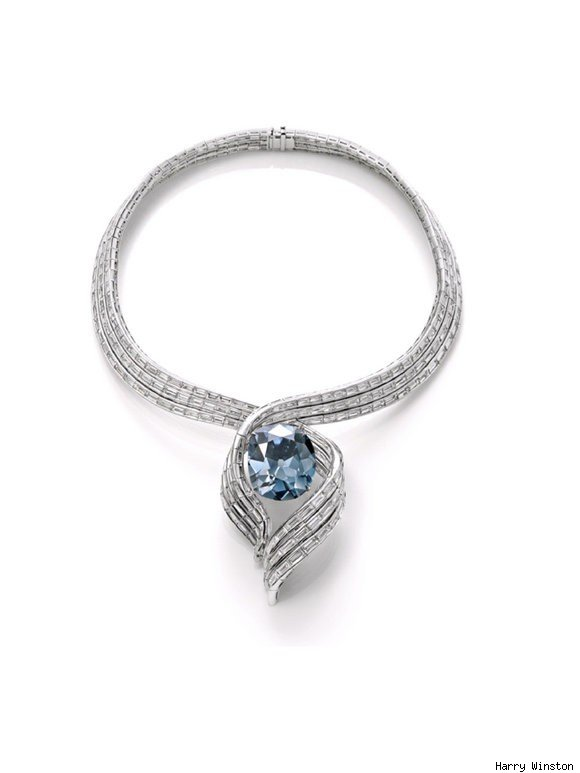The Hope Diamond's New Setting by Harry Winston