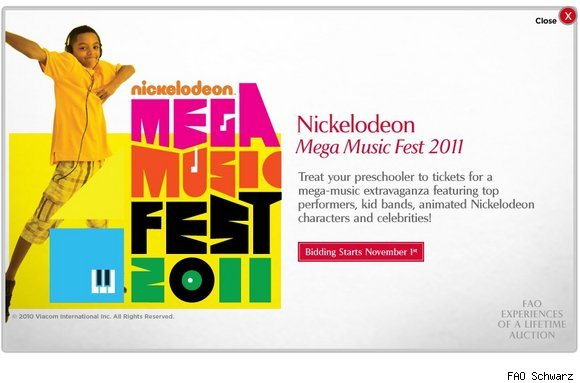 Nickelodeon Mega Music Fest 2011