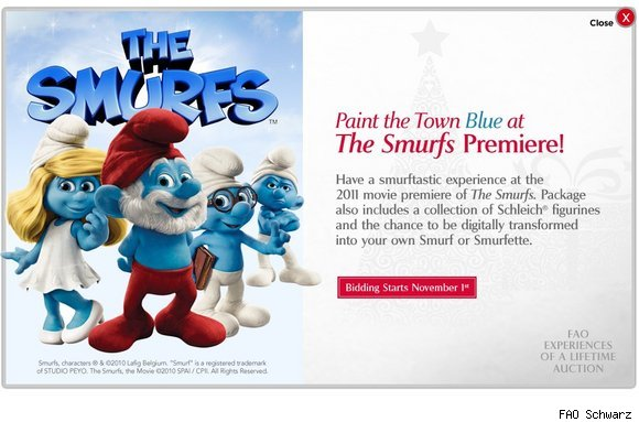 Paint the town Blue at The Smurf's Premier