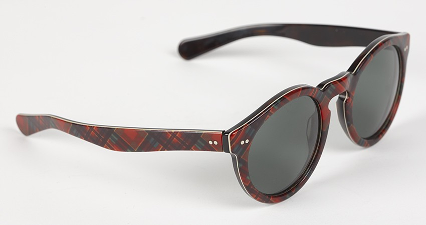 Tartan sunglasses