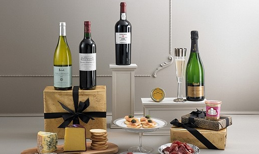 Harrod's Vintage Christmas Hamper