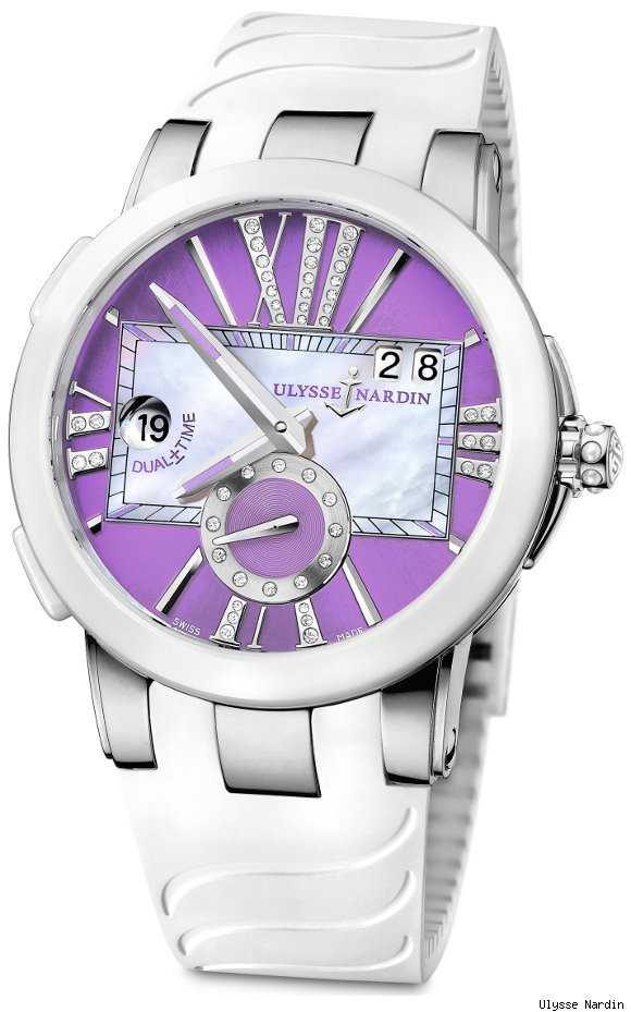 Ulysse Nardin Executive Lady Dual Time Watch