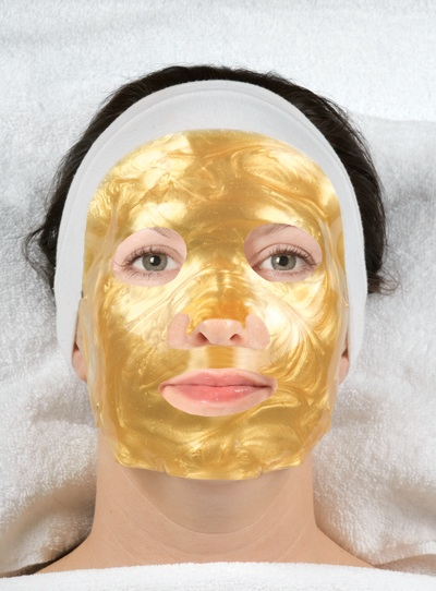 gold facial
