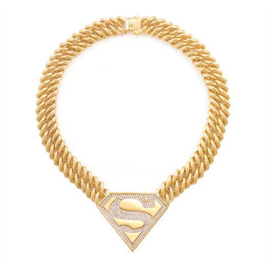 Super Girl Logo Necklace