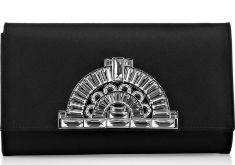 Judith Leiber Satin Clutch
