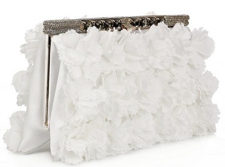 Valentino Floral Satin Clutch