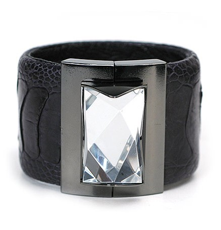 Dominique Aurientis Leather Cuff