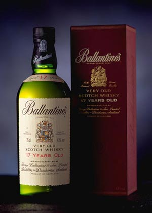 Ballantine's 17 year Old Blended Scotch