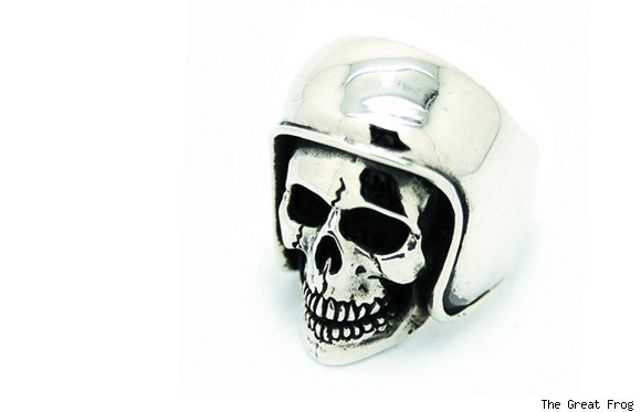 Biker Skull Ring from The Great Frog