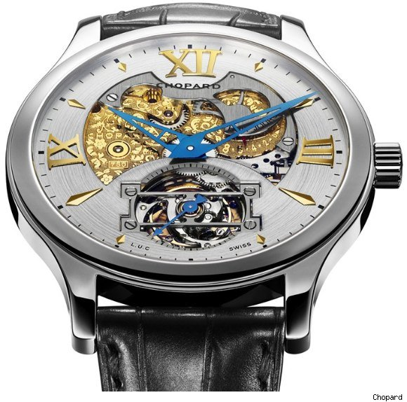 Chopard L.U.C Tourbillon Esprit de Fleurier Limited Edition Watch