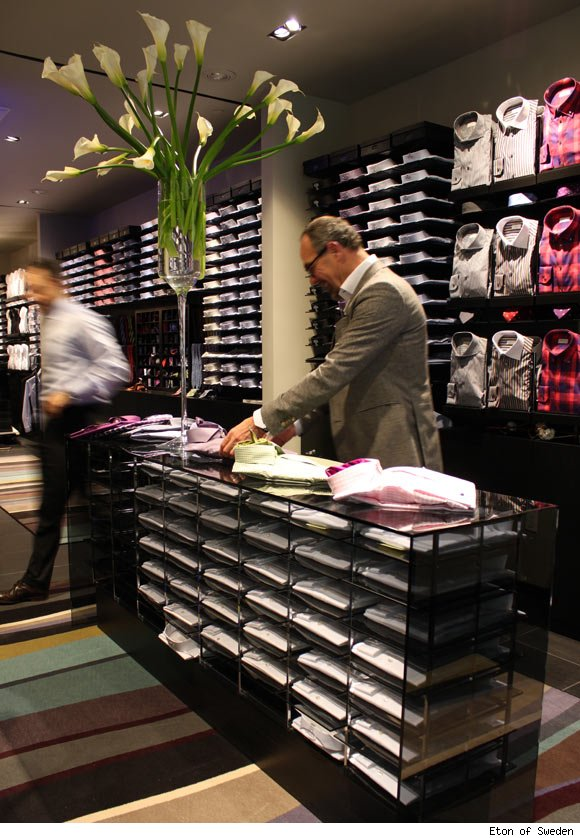 Eton of Sweden opens flagship location in Manhattan