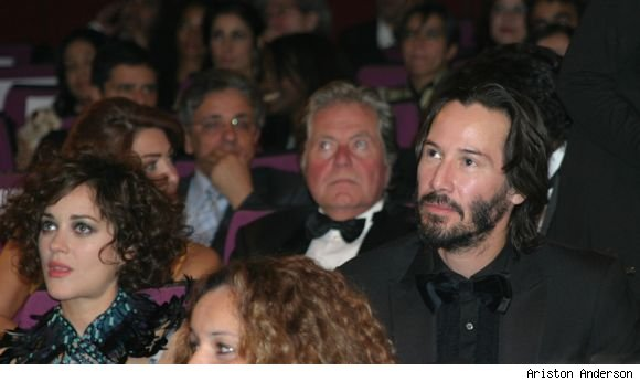 Marion Cotillard and Keanu Reeves