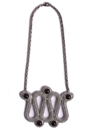 Swarovski x Karl Lagerfeld Snake Necklace