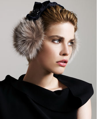 Lanvin Jeweled Earmuffs