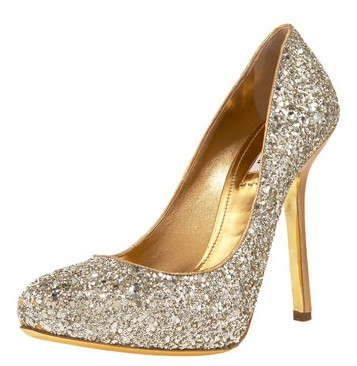 Miu Miu Glitter Pumps