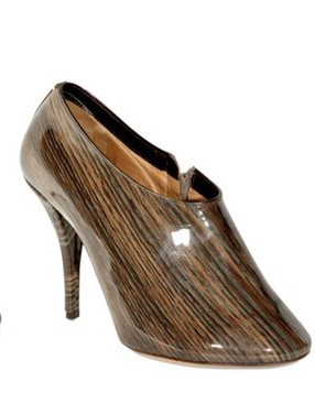 Maison Martin Margiela Wood Print Pumps