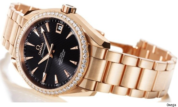 Omega Aqua Terra Jewellery Co-Axial Watch