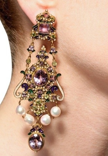 Diego Percossi Papi Chandelier Earrings