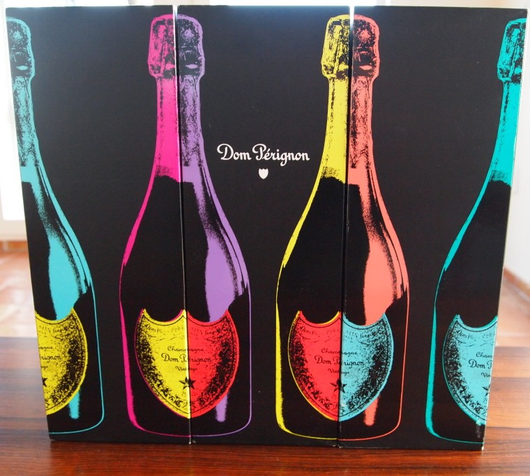 Dom Perignon Tribute to Andy Warhol edition.