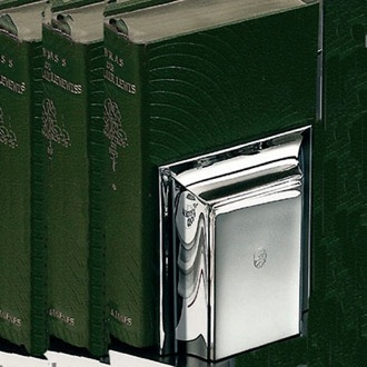 Chrome Bookend