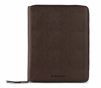 Burberry Leather iPad Case