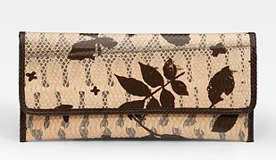 Carlos Falchi Tigersnake Clutch