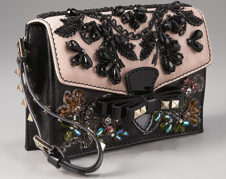 Valentino Embroidered Pouchette