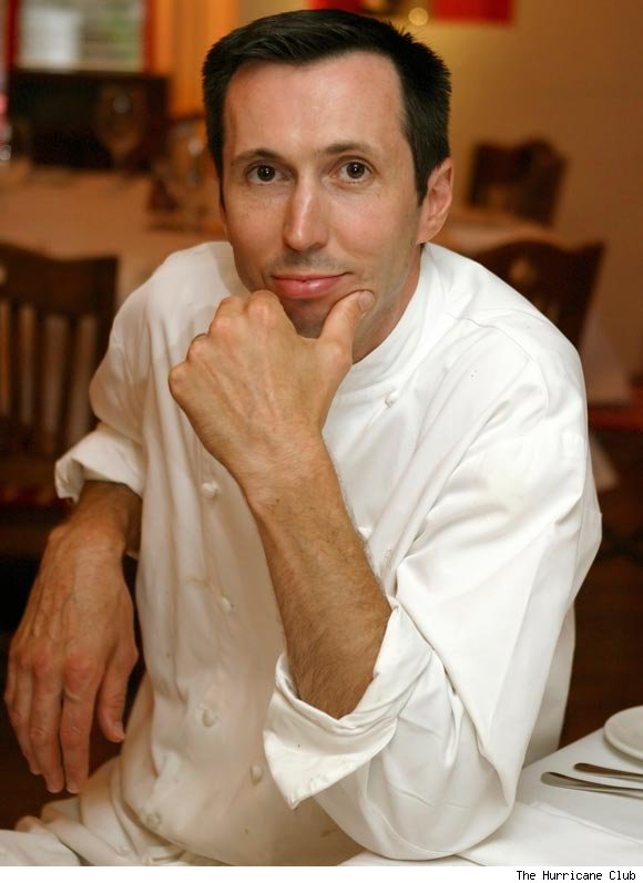 Richard Leach, pastry chef at The Hurricane Club