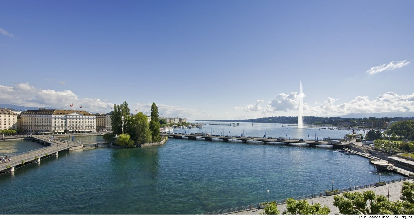Four Seasons Hotel Des Bergues in Geneva