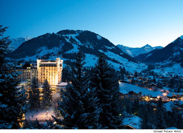 Gstaad Palace Hotel in Gstaad