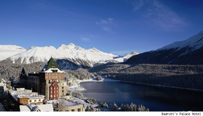 Badrutt's Palace Hotel in St. Moritz