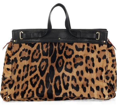 Jerome Dreyfuss Leopard Bag