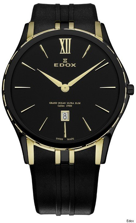 Edox Grand Ocean Ultra Slim Watch