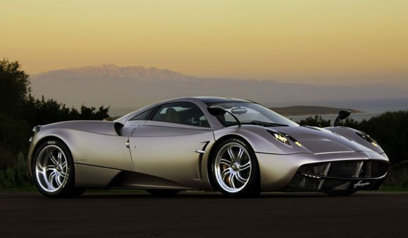 Pagani's All-New V12 Huayra Supercar