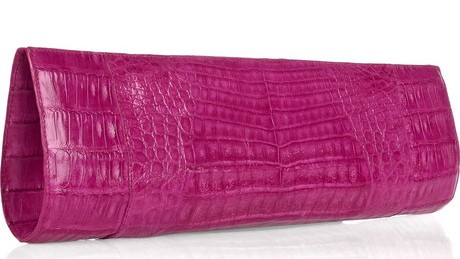 Nancy Gonzalez Crocodile Long Clutch