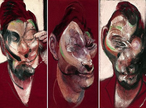 lucien freud by francis bacon