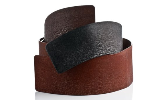 Luxe stingray belts