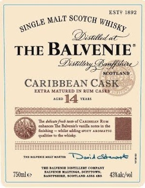 The Balvenie Caribbean Cask Single-Malt Whisky