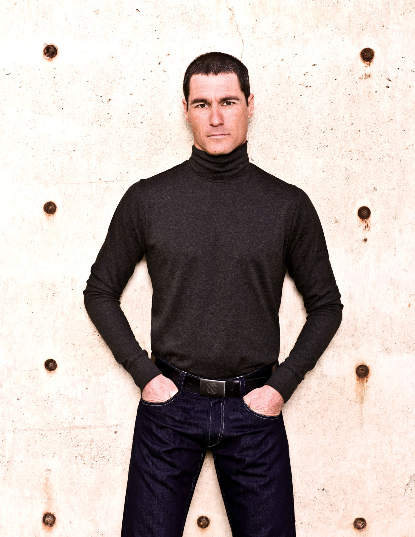 Coolmax Merino Mock Neck