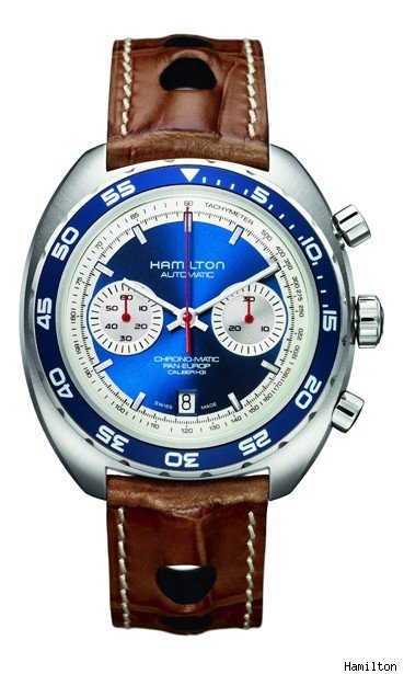Hamilton Pan Europ Automatic Chronograph Watch