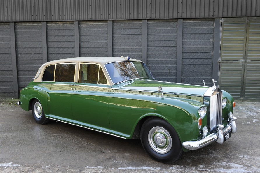 Ex-Duke of Kent 1963 Rolls-Royce Phantom V