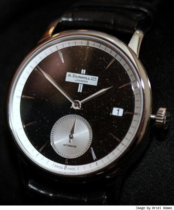 Dunhill Black Diamond Classic Watch Hands-On