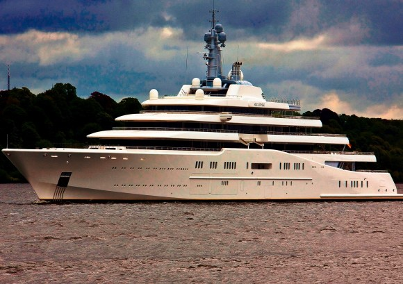 Abramovich's 'Eclipse' Meets the 'A' in Anguilla