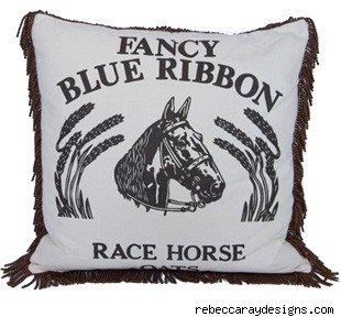 Rebecca Ray Feedsack Pillow