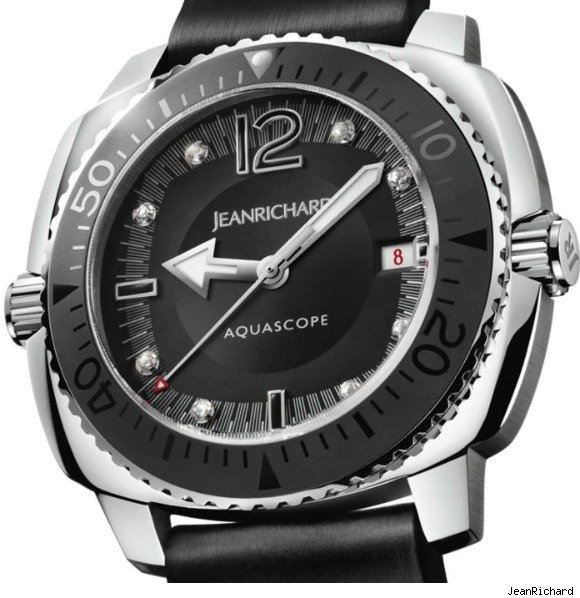 JeanRichard Aquascope Lady Night Watch