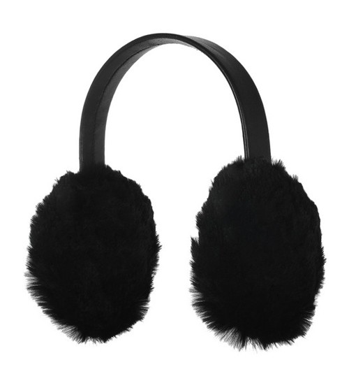 Karl Donoghue Rabbit & Leather Earmuffs