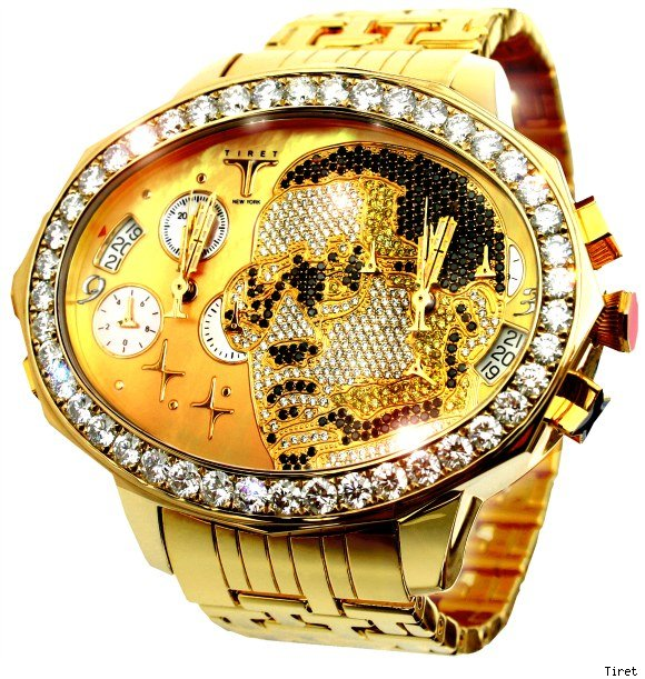 Tiret Watch For Kanye West, With His Face On It