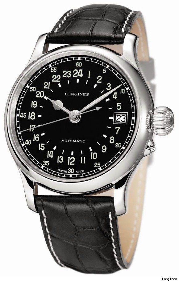 Longines Twenty-Four Hours Vintage Re-Issue Watch