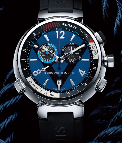Louis Vuitton Tambour Regate Navy Limited Edition Watch