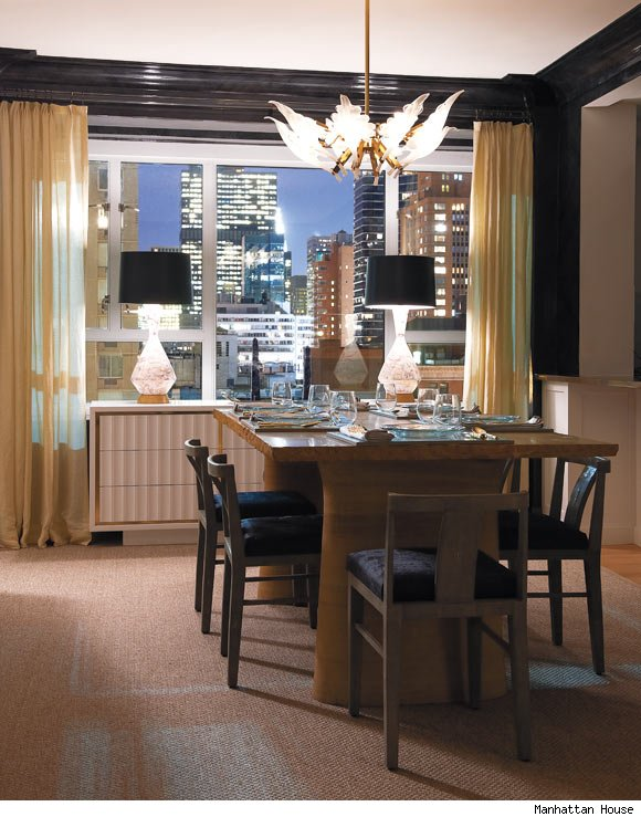 Celerie Kemble Manhattan House Dining Room